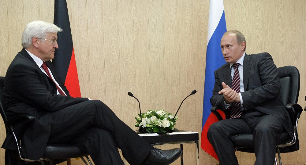 Putin Invites German President-Elect Steinmeier to Visit Russia