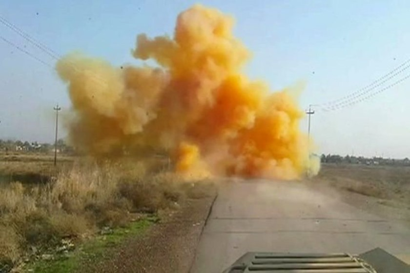ISIS uses chemical warfare to halt advancing Iraqi Forces
