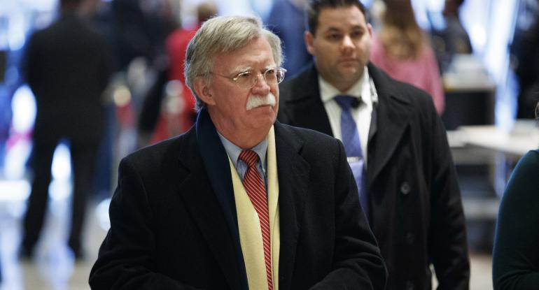 Bolton: 'I Don't See How' Trump Can Break Up Russia-Iran Alliance