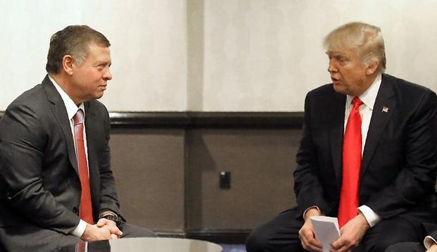 King Abdullah II, Donald Trump, US-Jordan Relations, jerusalem, al aqsa