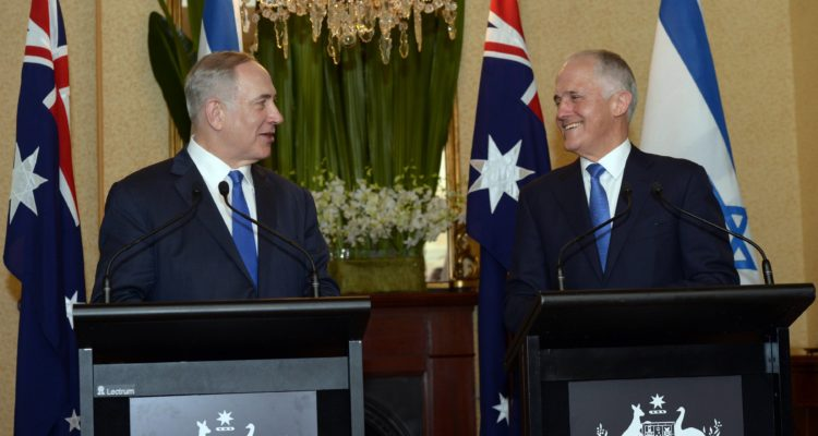 Netanyahu avoids endorsing two states in Sydney statement