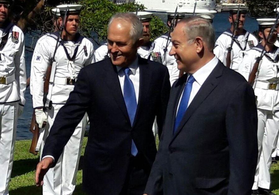 NETANYAHU URGES AUSTRALIA TO TAKE MORE AGGRESSIVE TONE ON IRAN