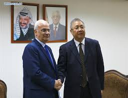 China in full support of Palestinian just cause: negotiator