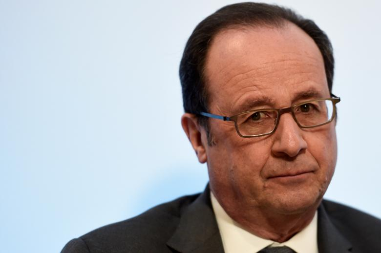 France's Hollande fires back at Trump over Paris comments