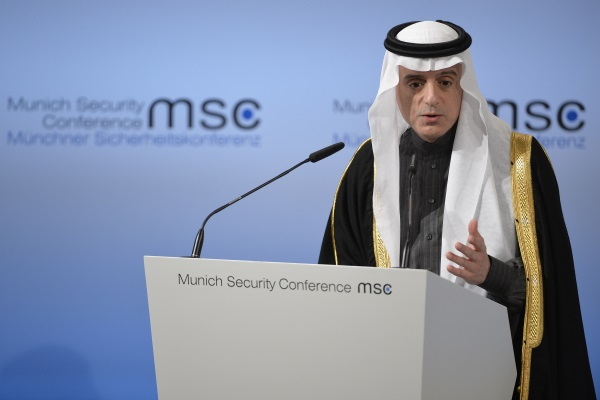 Saudi Foreign Minister believes Israeli-Palestinian conflict will be resolved this year