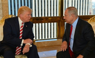 Bennett pressures Netanyahu to reject two-state solution during meeting with Trump