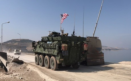 US-led coalition sends troops to Manbij to deter 'aggression'