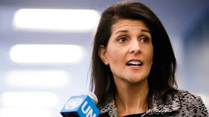 Nikki Haley: 'We are not afraid to call out Russia'
