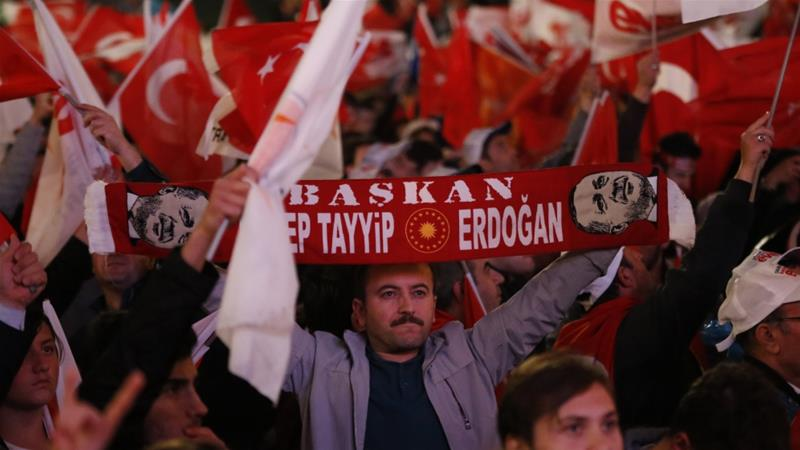 President Erdogan rejects criticism of referendum