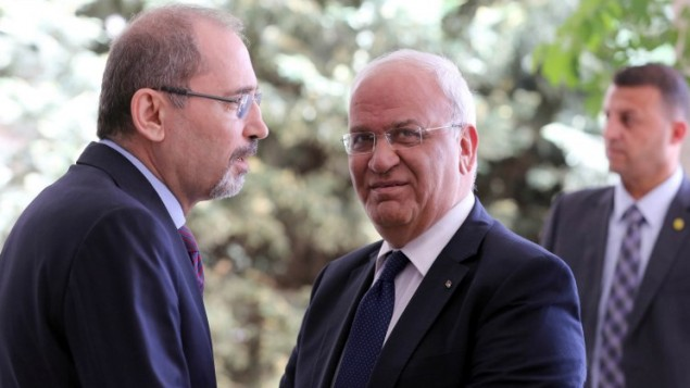 Erekat warns Trump embassy move would end peace process