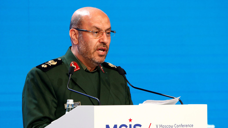 Iran's defense minister slams neighboring countries as 'threat' to security