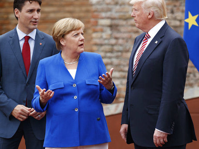 Merkel Mad: Donald Trump Declines to Endorse Paris Climate Agreement