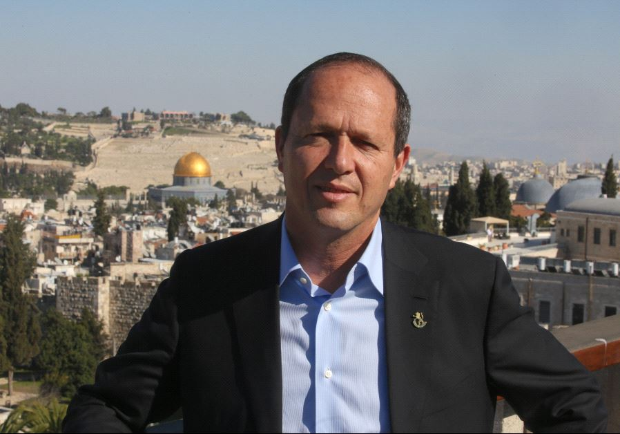 JERUSALEM MAYOR SLAMS TURKEY'S ERDOGAN: COME SEE ISRAEL FOR YOURSELF