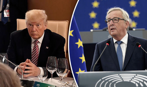 Jean-Claude Juncker warns Donald Trump it will take YEARS for US to leave Paris Agreement