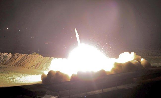 Iran ballistic missile attack in Syria raises alarm