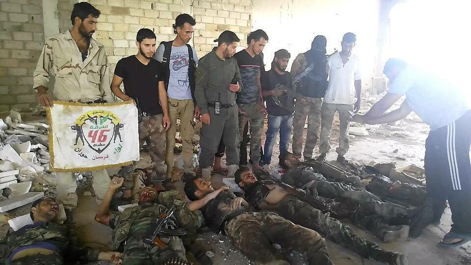 The battles in Daraa exact a heavy price from the Syrians and the Iranian militias and Hezbollah.