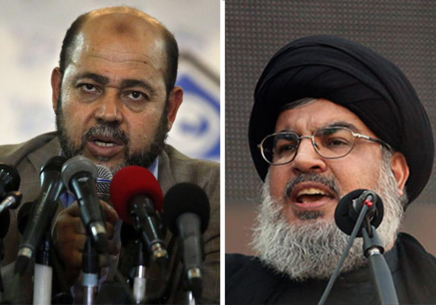 STRENGTHENING ALLIANCES: DEPUTY HAMAS CHIEF MEETS WITH NASRALLAH