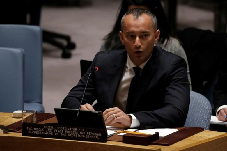 Israel flouting U.N. Security Council settlement demand: U.N. envoy