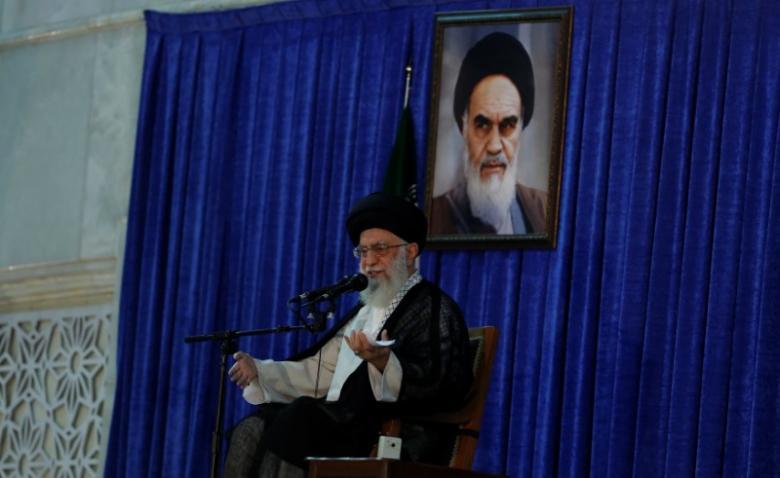 Iran's leader warns Iraq not to weaken Shi'ite militias