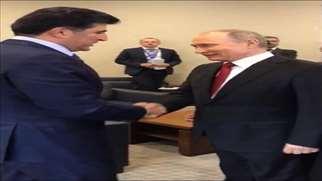 President Putin, PM Barzani meet to improve Russian-Kurdish relations