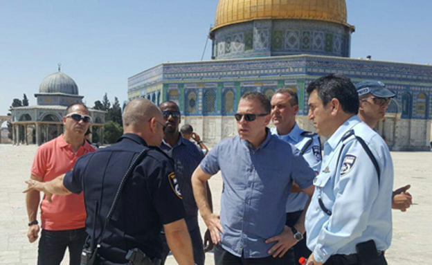 Israel is the sovereign on the Temple Mount""