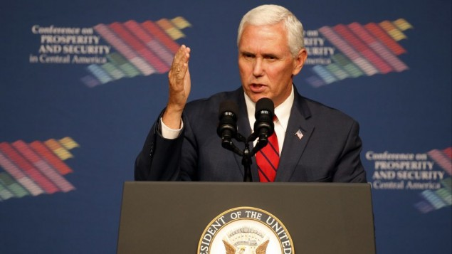 Pence restates Trump pledge to move embassy to Jerusalem