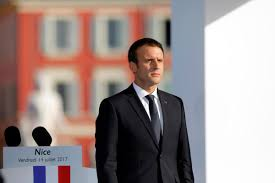 Macron calls for two-state solution, assails Jewish settlements