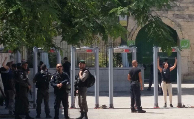 Netanyahu stated that metal detectors at Temple Mount will not be removed