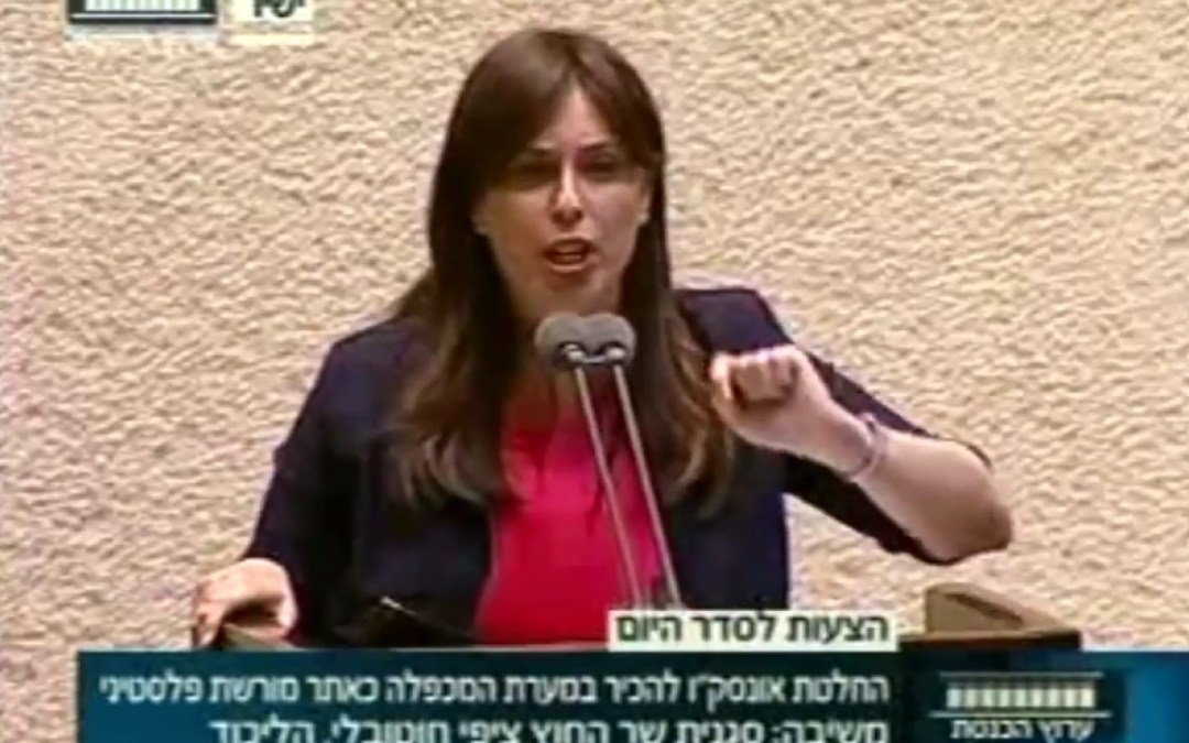 """Watch: Israeli Deputy Foreign Minister lashes out at the UN """"Read the Bible"""""""