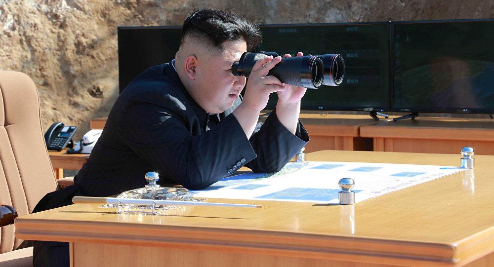 North Korean Leader Briefed on Planned Missile Test Near Guam