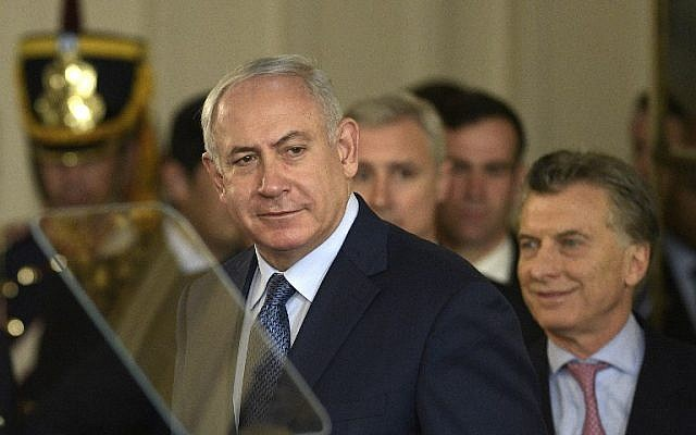Israel could get something from Arab states for fighting terror, PM hints