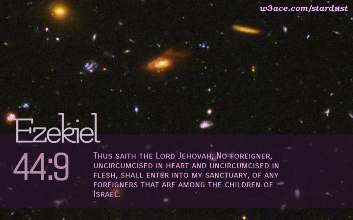 Sin Keeps One From The Kingdom Series:  Ezekiel  · 100 of 100