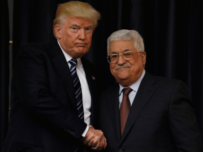 Both Israel and Palestine are convinced Trump is prepping a big Middle East peace plan
