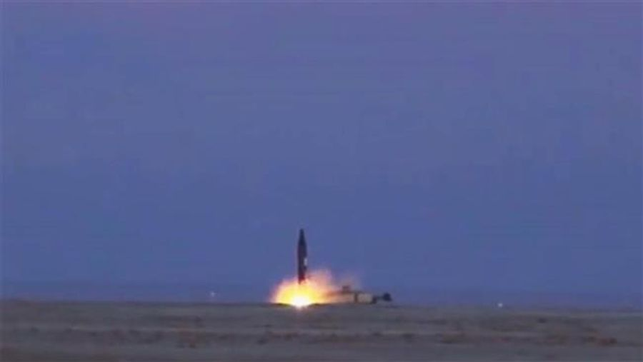 """The Iranian Khoramshahr ballistic missile test did take place – although the US said """"It didn't happen"""""""