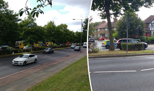 BREAKING: Vomiting people rushed to hospital during 'chemical incident' in south London