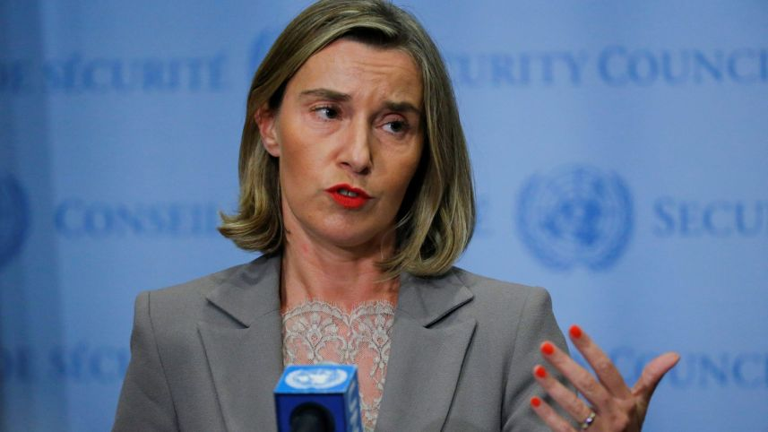 European Officials Join Campaign to Keep Iran Deal