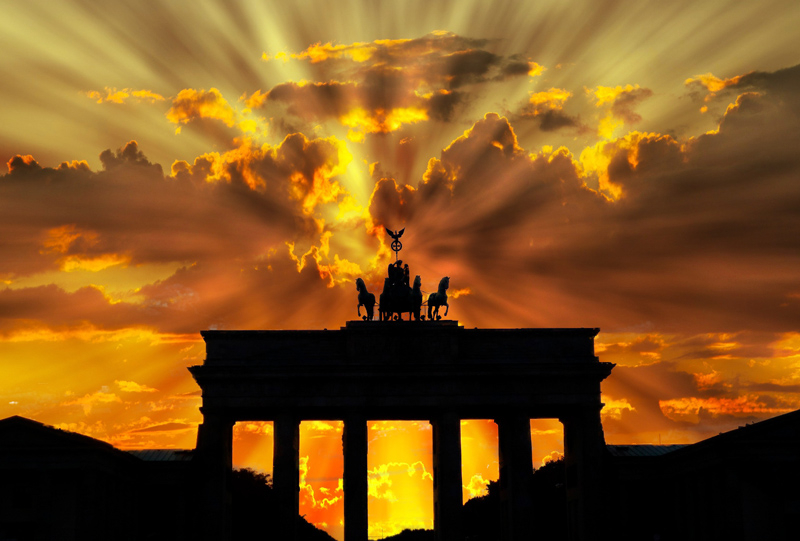 Islamic Sunset on Germany