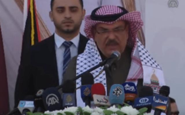 Qatari envoy arrives in Gaza amid brewing controversy