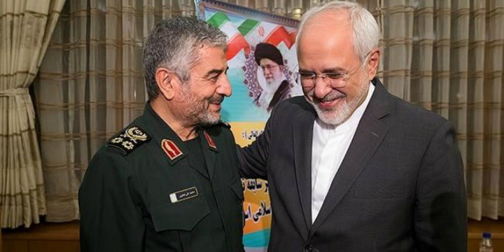 Iran's 'Moderate' Foreign Minister, Mohammad Javad Zarif, Backs Revolutionary Guard Threat Against US Troops in Middle East