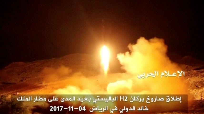 Iran Designed and Built Missiles Fired at Saudi Arabia From Yemen