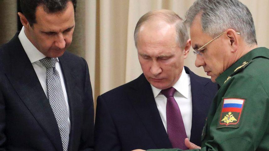 Putin Calls Trump, Netanyahu to Discuss Syria After Surprise Assad Meeting