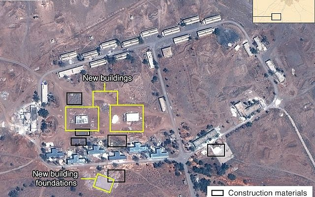 Iran building a permanent military base in Syria