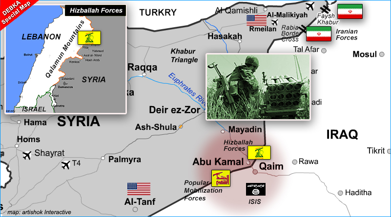 ISIS last stronghold in Syria Abu Kamal falls to Hizballah-Iraqi Shiite force