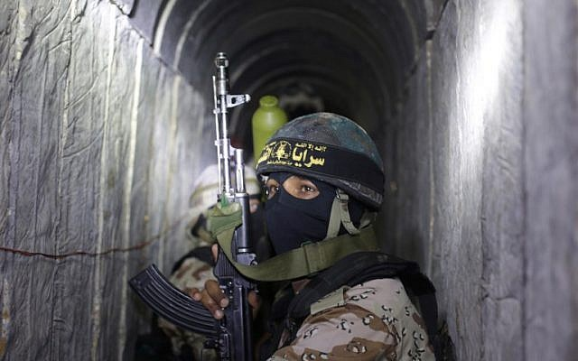 Gaza Strip terror tunnel detecting barrier 90% completed — report