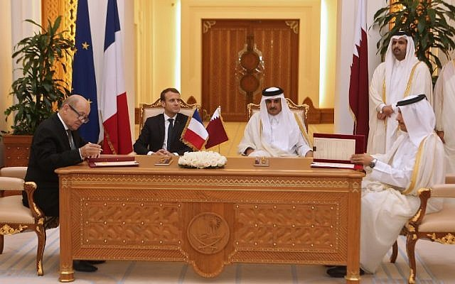 France: US excluded itself from peace process