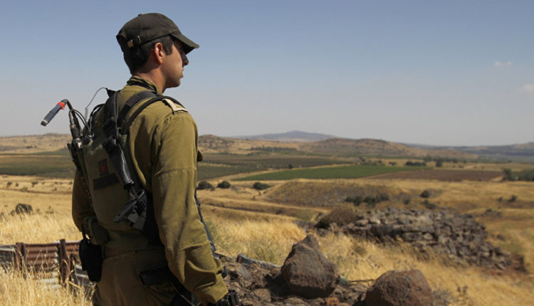 Israel's Army Reports About Rocket Fired From Syria At Golan Heights