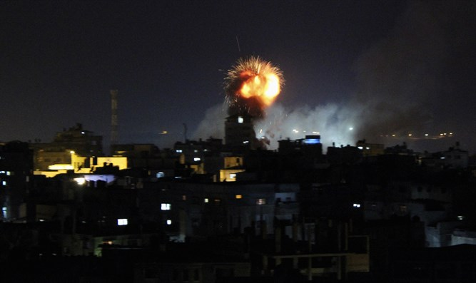 IAF strikes Hamas targets in Gaza
