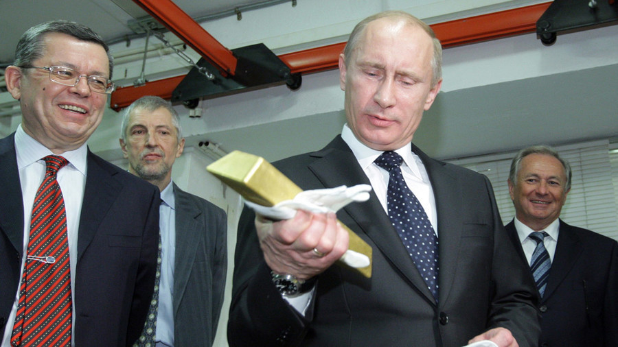 Russia-China combined gold reserves could shake US dominance in global economy – expert tells RT