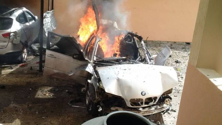 Hamas Official Reportedly Targeted in Car Explosion in Southern Lebanon