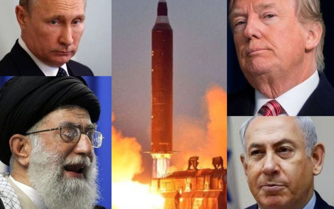 Four players jockeying for post-war positions in Syria. US & Israel vs Russia & Iran